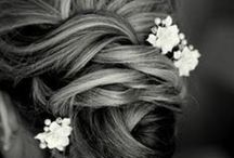 Hair Styles / Bride and Bridesmaid