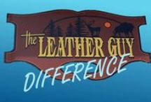 The Leather Guy Difference / This board is for all of you leather lovers who can't make it to our store in chilly Minnesota. Get an inside view of TLG!
