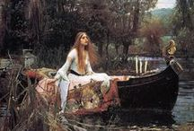 John William Waterhouse /  (1849 --1917) was an English painter known for working in the Pre-Raphaelite style.      LIMIT 10 PINS DAILY PER BOARD .PLEASE RESPECT MY REMINDER ....THANK YOU!