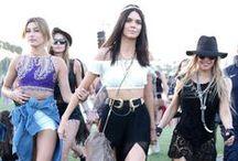 Coachella 2015 / Celebrities en el festival de música Coachella 2015