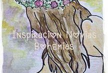Inspiracion Novias Bohemias / Ideas e inspiración para la novia que busca un vestido y estilo acorde con su forma de ser sin tener que gastar una fortuna.