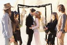 Mi gran boda hippie / Miscelánea para encontrar la inspiración si tu boda o celebración quieres que tenga un aire hippie.