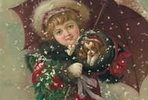 Vintage Christmas and New Year cards..❈ / LIMIT 10 PINS DAILY PER BOARD .PLEASE RESPECT MY REMINDER ....THANK YOU!
