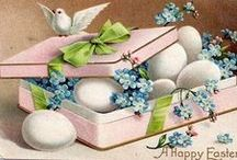 Vintage Easter cards... / LIMIT 10 PINS DAILY PER BOARD .PLEASE RESPECT MY REMINDER ....THANK YOU!