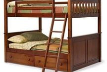 Bunk Beds- Full over Full / All types of bed frames, from twin to CA King, basic to fancy upholstered, canopy, loft style, trundle, bunk beds and more.