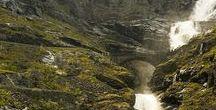 Waterfall, River, Lake, Sea...