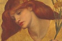 Dante Gabriel Rossetti  (12 May 1828 – 9 April 1882) Pre-Raphaelite artist . / LIMIT 10 PINS DAILY PER BOARD .PLEASE RESPECT MY REMINDER ....THANK YOU!