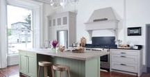 Plain English Painted Kitchens / These beautiful hand painted kitchens are from our Plain English Collection