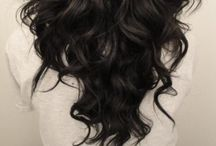 Haar haar | Her hair / #Inspiration for her #hair: long & curly. Lets try something new!