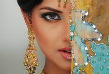 Sari, Dress, jewelry