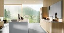 Modern Kitchens / Some stunning modern kitchen designs in timber and painted finishes