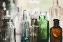 GLASS / Bottles and jars mainly