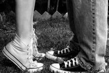 Dresses, sneakers