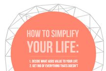 Simpeler Leven | Simplify your live / Simplify - living with less - minimalism - lifehacks and inspiration!