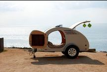 Our Teardrop Trailers / Here are some pics of some of the teardrops we've built at Oregon Trail'R