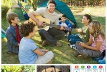 Camping games. / Lots of stuff to do with your kids while camping.