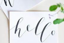 Handschrift | Lettering