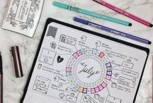 For Your Planner / Pretty and productive ways to decorate and organize your planner, agenda or bullet journal.