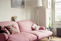 Little pink couches for you and me / by Alyssa Schiffman