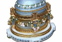 Faberge Eggs, Jewelry, Accessories / by Karen Smith