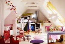 KIDS SPACE / Playroom and Bedroom decor  / by Nicole Kendall