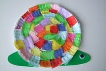 Mind of a Child- Crafts for Work / Adaptable ideas for my 2 yr old class / by Sheri Spurlock-Witt