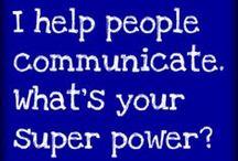 it's a communication thing
