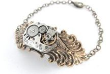 steampunk jewelry / Bringing you industrial romance with Victorian-inspired and Steampunk Jewelry.  You can find me at www.ellepaisley.etsy.com or www.facebook.com/elle.paisleydesigns #steampunk #steampunkjewelry / by elle.paisley designs
