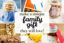 DIY Christmas Gifts / Cute ideas for gifts you can make yourself for friends and family.  / by Molly Green Magazine