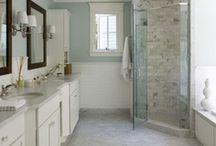 Bathroom redo / by Ashley Pinion Cox