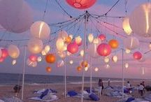 Beach Wedding / Ideas for wedding in Summer, on the beach or shores of a lake somewhere...