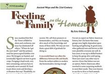 HOMEsteading / Whether you live on a 100-acre spread, tend a cozy little garden with chickens in the backyard, or nurture your urban homestead from container plants on the porch, we share your connection to the land. / by Molly Green Magazine