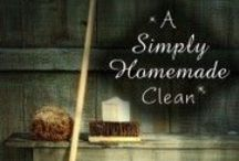Homemade, Natural Cleaners / HOME … a way of life. All things HOMEsteading, HOMEkeeping, HOMEschooling, and HOMEindustry. www.MollyGreen.com  / by Molly Green Magazine