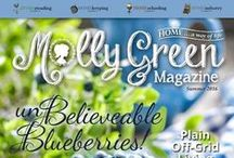 Molly Green Magazine / HOME … a way of life. All things HOMEsteading, HOMEkeeping, HOMEschooling, and HOMEindustry. www.MollyGreen.com