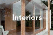 Interiors / Clean and simple interior spaces.