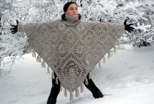 Crochet Ponchos / Many projects to make