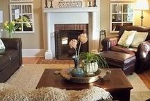 Luscious Living Spaces / Cozy up in your home's living room... grab a blanket, your favorite book or turn on your favorite TV show. A living room is meant to unwind and relax and here are some decor ideas to inspire just that.