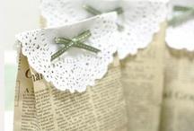Papelitos, envolturas... / ... y muchas ideas para fiestas y regalos.