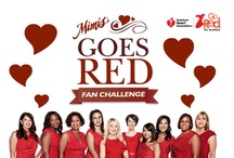 Mimi's Goes Red Fan Challenge / by Beverly Swanson