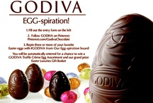 Godiva Egg Chocolate Favs / by Beverly Swanson