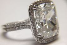 Engagement Rings / Some of our creations for special weddings