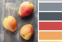 Gorgeous Color Palettes  / Bring your home's walls to life with these beautiful colors! From cool ocean blues and grays to vibrant corals and yellows, your house will be the swankiest on the block with these palettes.