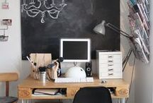 Studious Office Spaces / A carved out space in your home that's quiet and cozy, making it the perfect spot for you to conquer your to-do list.