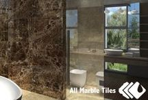 Dark Emperador Marble Tile & Mosaic Collection / Dark Emprador Marble collection is a classic marble tile used in five start hotels. This is a great chance to bring that intercontinental feeling to your bathroom, kitchen or living room. Dark Emprador is a one of a kind marble tile resembling a jewel stone with a touch of espresso brown hue. Like the Antic marble, the Dark Emprador also spots dark veins vividly running through the tile, which adds to its sophisticated luster.