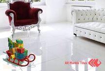 White Tiles / Bianco Carrara Marble Tiles, Arabescato Marble Tiles, Arctic White Marble Tiles, Equator Marble Tiles