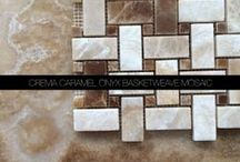 Crema Caramel Onyx Tile, Mosaic, Moulding and Border Collection / Crema Caramel Onyx Tile, Mosaic, Moulding and Border Collection from #AllMarbleTiles . Visit http://allmarbletiles.com and find more product for your home.
