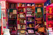 Colours and rooms / il colore in casa