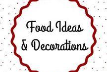 Food Ideas & Decorations │ Essensideen & Essensdekoration / Get inspired by these food ideas and decorations! │ Lass' dich inspirieren von diesen einzigartigen Essensideen und Essensdekorationen!
