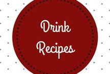 Drink Recipes │ Getränke Rezepte / Check out great recipes for tasty cocktails, juices, drinks! │ Entdecke die Vielfalt an Rezepten für leckere Cocktails, Säfte und Getränke!