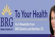 """To Your Health e-Newsletters / Check out our monthly newsletter that gives you all the tips and facts that you need to know to live a healthier and happier lifestyle. If you want to subscribe send me and email at: bonnie@brghealth.com with subject line """"Subscribe me to your newsletter."""" Hope you Enjoy!"""
